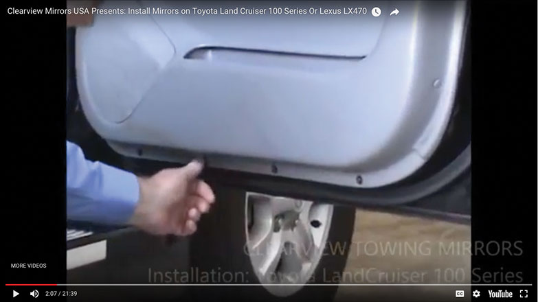 remove the 4 philips head screws at the bottom of the door panel