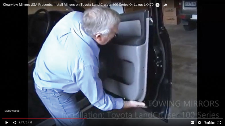 pull door panel out
