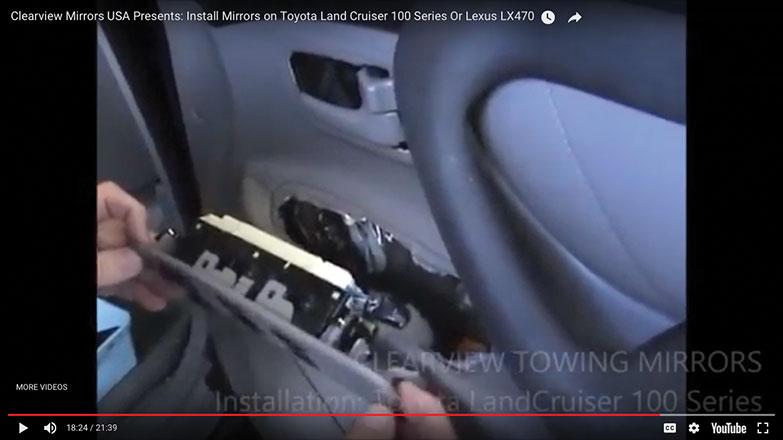 Reinsert the door panel electrical controls