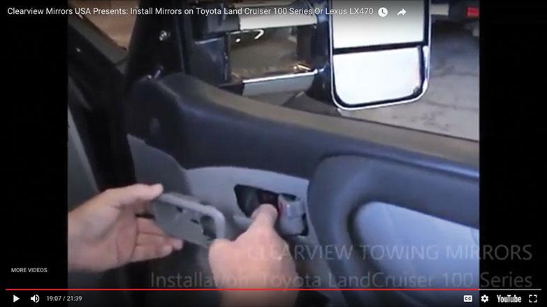 Replace plastic door handle trim
