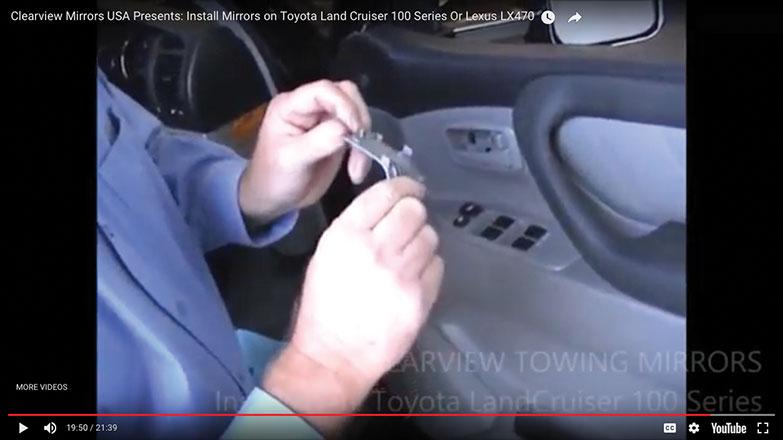 plastic trim cover for the door handle