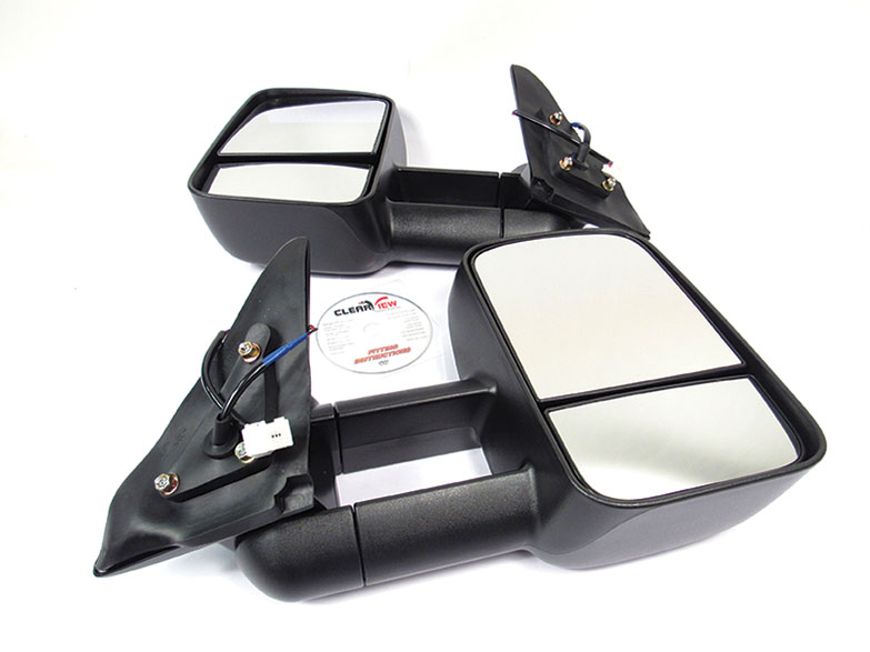 Toyota Land Cruiser 100 Series or Lexus LX470 Clearview Towing Mirrors