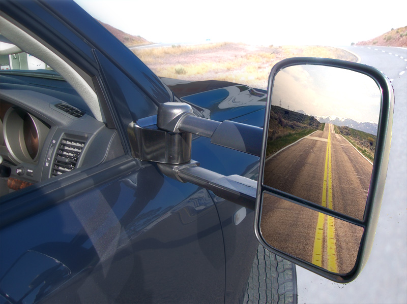 on the road with Clearview mirrors